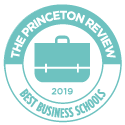 Princeton Review best business school logo