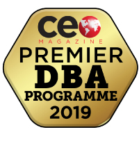 CEO Magazine Best DBA logo