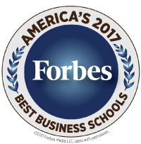 Forbes Best business School ranking logo