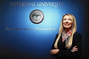 Bernice Ledbetter at Pepperdine Graziadio