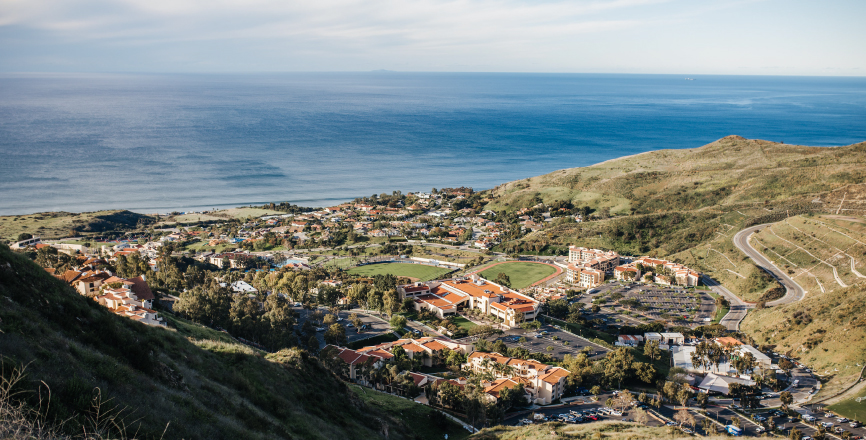 View of the Pepperdine Malibu Campus