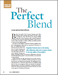 Blended Learning Article - BizEd