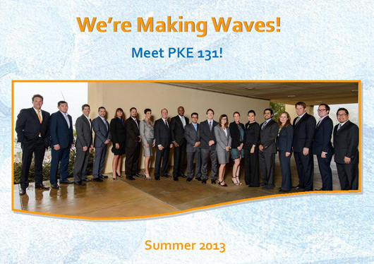 We're Making Waves!  Meet PKE 130!