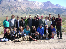 SEER students in Patagonia 2011