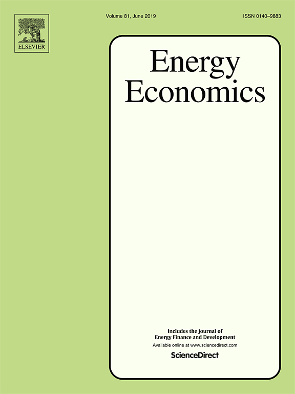 Energy Economics journal cover