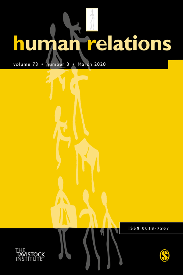 Human Relations journal cover