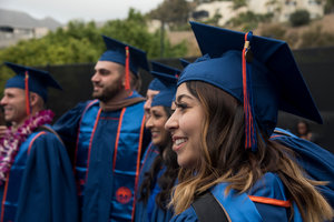 graduates at Pepperdine Graziadio