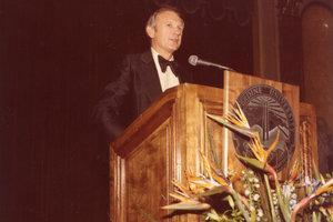 James R. Wilburn, PhD becomes Dean of the business school (1982-1994)