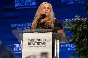 Kathleen Graves speaking at the Future of Healthcare Symposium