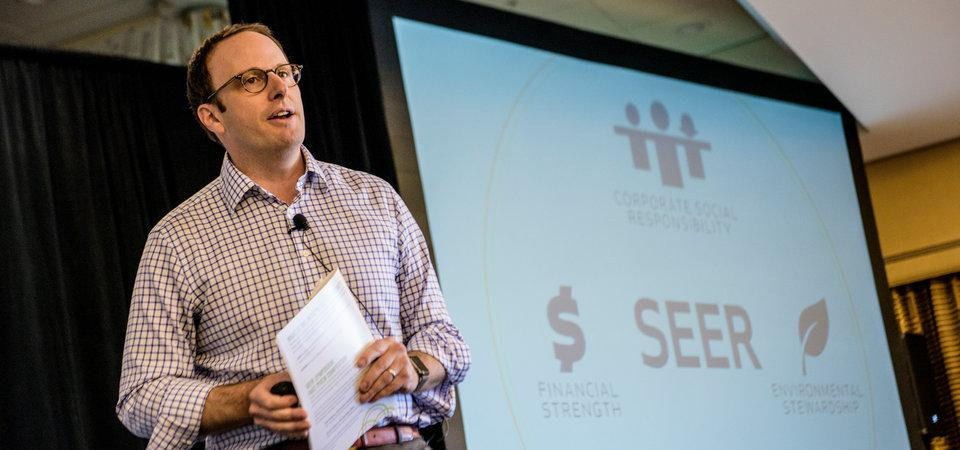 SEER Director Emphasizes Creativity as Main Ingredient of Business Sustainability