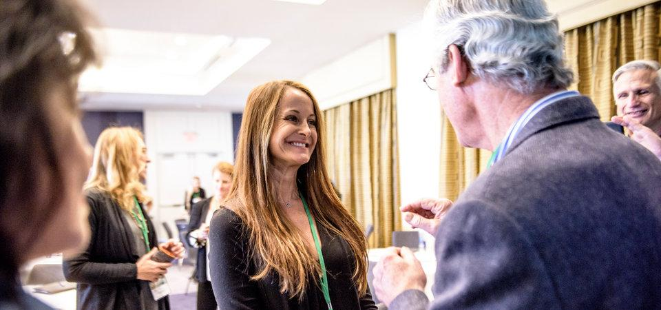 Networking at SEER 5th annual