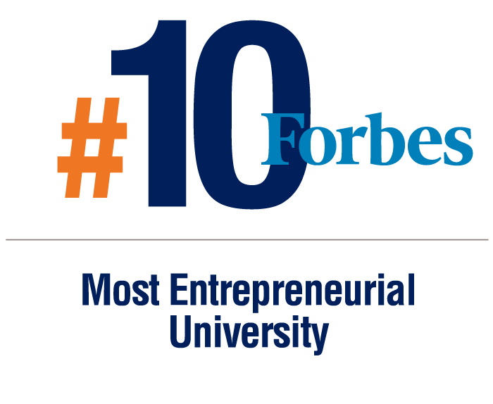 Forbes 10th Most Entrepreneurial University
